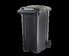 Poubelle conteneur 2 roues - CEP - 340 litres - Gris
