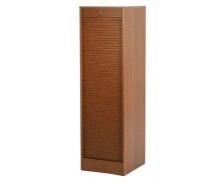 Meuble à rideaux simple L41 x H140 - Chêne