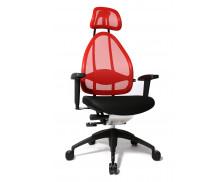 Fauteuil de bureau COSMIC - TOPSTAR - Rouge et Noir