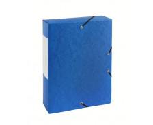 Boite de classement dos 60 mm - TOP OFFICE - Bleue