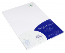 50 feuilles A4 Vergé - GEORGES LALO - Extra blanc