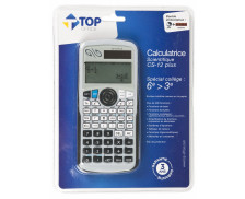 Calculatrice scientifique - TOP OFFICE - Collège