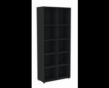 Etagère haute - MAXIM - L84 cm - Finition noire