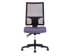 Chaise de bureau - WIMA - Violet/noir