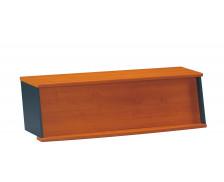 Banque d'accueil pour table bureau 140 cm JAZZ, largeur : 131 cm - Coloris aulne