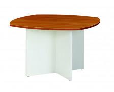 Table de réunion - SUNDAY - Ronde - Noyer