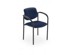 Chaise tissu - STYL ARM - Bleu