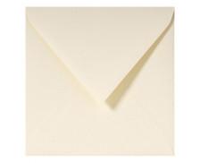 20 Enveloppes G.LALO Paille gommées - 140 x 140 mm - Ivoire