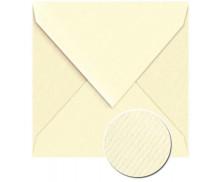 25 Enveloppes G.LALO Vergé doublées - 140X140 - IVOIRE