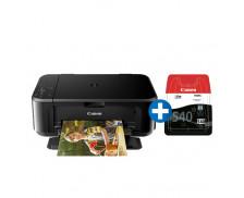 Ensemble imprimante multifonction MG 3650 blanche+ cartouche noire PG540