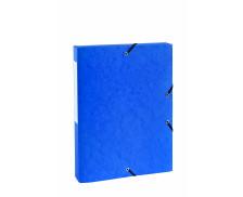 Boite de classement dos 25 mm - TOP OFFICE - Bleue