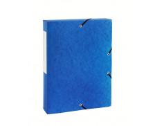 Boite de classement dos 40 mm - TOP OFFICE - Bleue