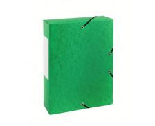 Boite de classement dos 60 mm - TOP OFFICE - Verte