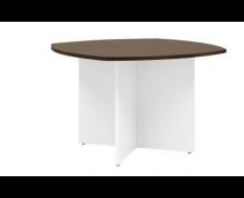 Table de réunion - XERUS - 115 cm - Chêne