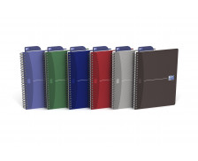 Cahier office Essential - OXFORD - A5 - 5x5 -100 pages - Assorti