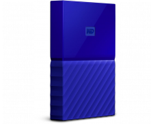 "Disque dur externe My Passport - WESTERN DIGITAL - 1 To - 2,5"" - Bleu"