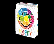 Agenda scolaire journalier Smiley - ALPA - 12 x 17 cm