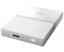 "Disque dur portable My Passport - WESTERN DIGITAL - 2 To - 2,5"" - Blanc"