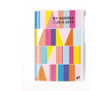 Agenda scolaire journalier personnalisable My Agenda - QUO VADIS - 12 x 17 cm