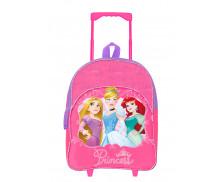 Sac à dos à roulettes Princess - BAGTROTTER - Raiponce, Cendrillon et Arielle