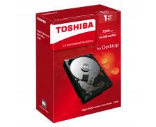 Disque dur interne desktop P300 - TOSHIBA - 1 To - 3'5
