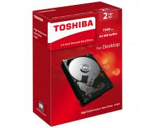 Disque dur interne desktop P300 - TOSHIBA - 2 To - 3'5