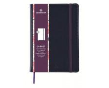Carnet ligné Carmen - OBERTHUR - 200 pages - Bleu - A6