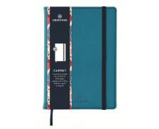 Carnet ligné Carmen - OBERTHUR - 200 pages - Turquoise - A6