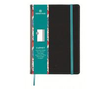 Carnet ligné Carmen - OBERTHUR - 200 pages - Brun - A6