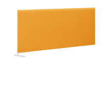 Ecran de séparation latéral XERUS - GAUTIER - 80 cm - Coloris mangue-Tissu