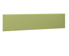 Ecran de séparation pour bureau XERUS -GAUTIER -  160 cm - Coloris kiwi- Tissu