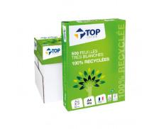 Caisse de 5 ramettes 100% recyclée - TOP OFFICE - 150CIE - Blanc