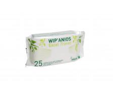 25 lingettes nettoyantes désinfectantes multi-surfaces - ANIOS