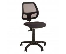 Chaise de bureau dactylo - ALFA - Noir