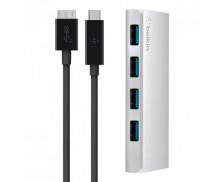 HUB 4 ports USB 3.0 - BELKIN - USB-C