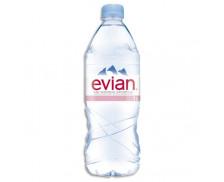 Pack de 12 bouteilles de 1 litre - EVIAN