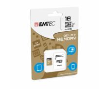 Carte micro SD - EMTEC - 16 Go