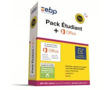 Logiciel Pack Etudiant + Microsoft Office - EBP - 2018