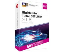 Logiciel Total Security 2018 - BITDEFENDER - Antivirus