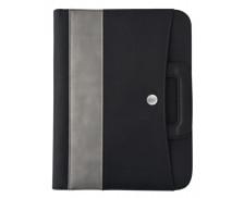 Conférencier A4 Midwest zippé amovible - OBERTHUR - Noir/gris
