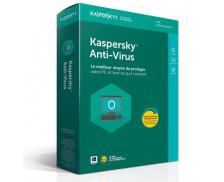 Logiciel anti virus - KASPERSKY - 1 an - 1 poste