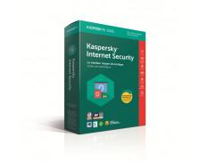 Logiciel anti-virus Internet Security 2018 - KAPERSKY - Mise à jour - 3 postes - 1 an