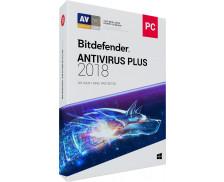 Logiciel Antivirus Plus 2018 - BITDEFENDER - 3 postes - 2 ans
