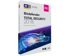 Logiciel Total Security multi-device 2018 - BITDEFENDER - 10 postes - 2 ans