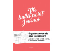 Organiseur bullet point journal 21,5x16 cm - HACHETTE - Rose