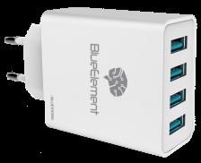 Chargeur secteur - BLUESTORK - 4 ports 5A
