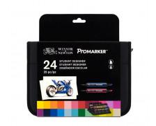 24 feutres Winsor & Newton - PROMARKER - Etudiant designer