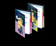 Agenda de texte scolaire - LES MINIONS - 17 x 22 cm
