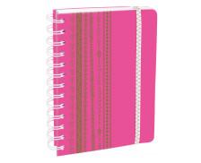 Agenda scolaire journalier Mat-fluo - QUO VADIS - 12 x 17 cm