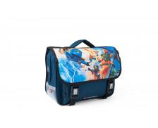 Cartable Lightning Battle - LEGO NINJAGO - 1 compartiment - Bleu